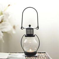 Подсвечник Керосиновая Лампа со сменной свечой_1