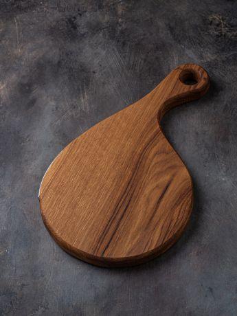 Деревянная доска для подачи бургера.  арт. 672