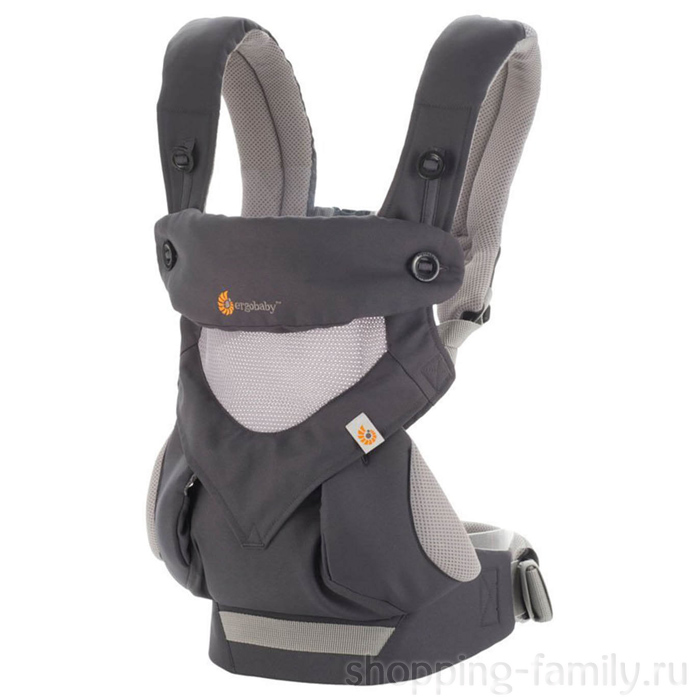 Эрго рюкзак Ergobaby 360 Cool Air baby carrier, Цвет Серый