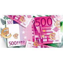 """Конверт для денег """"500 EURO-2"""", 10 шт"""