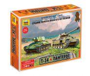 """Великие противостояния """"Т-34 против Пантеры"""""""