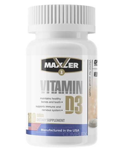 Maxler - Vitamin D3 1200 IU