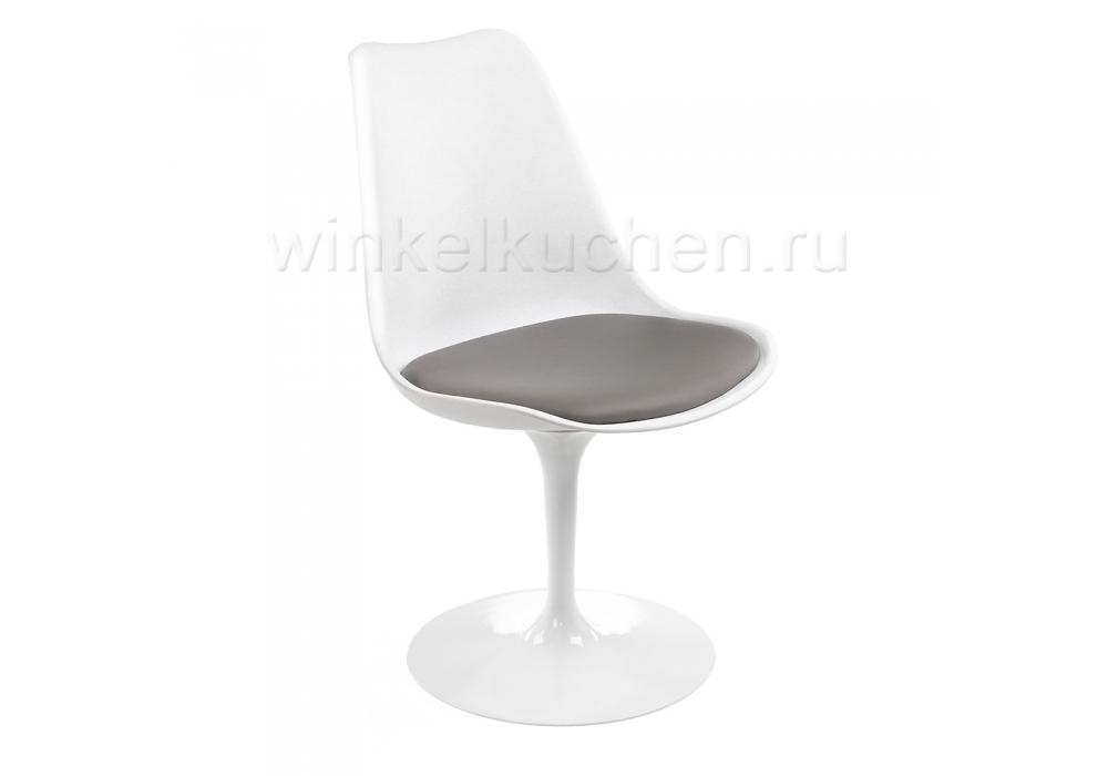 Стул Tulip белый / серый