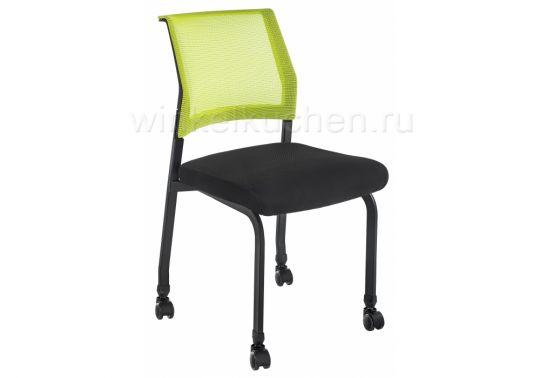 Стул Zola черный / зеленый