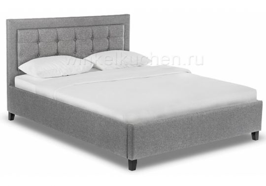 Кровать Ameli 160х200 grey