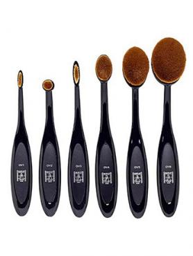 Make-Up Atelier Paris Brushes Набор из 6 овальных кистей OVSET