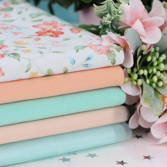 Набор тканей для творчества Сладкий персик