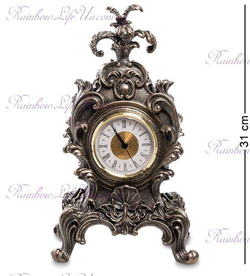 """Часы в стиле барокко Королевский цветок """"Veronese"""""""