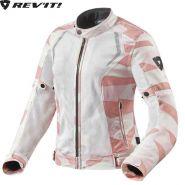 Мотокуртка женская Revit Torque, Бело-розовая