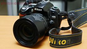 Зеркальный фотоаппарат Nkon D80 б/у