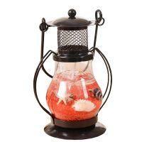 Гелевая свеча Керосиновая Лампа (цвет наполнителя красный)_1