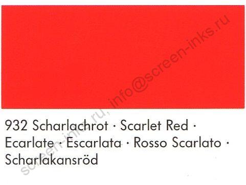 Краска Marabu Tampastar TPR 932 Scarlet Red 1 л.