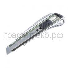 Нож канц.18мм Berlingo Metallic auto-lock BM4117