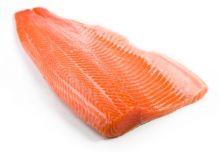 Филе лосося слабой соли от 1 кг