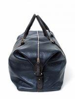 Hadley Cobaltwood кожаная дорожная сумка