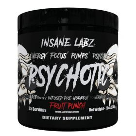 Psychotic Black от Insane Labz 220 гр 35 порций