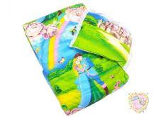 Комплект в кроватку: одеяло, подушка (принцесса)