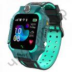 Часы детские с GPS OT-SMG04 Зеленые (SZ6)