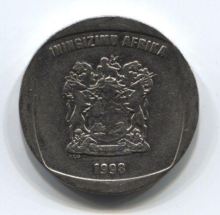 5 рандов 1998 года ЮАР