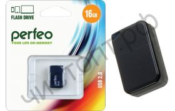 флэш-карта Perfeo 16GB M03 Black