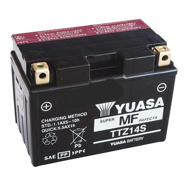 Мото аккумулятор АКБ YUASA (Юаса) TTZ14S YTZ14S 11Ач п.п.