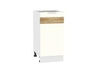 Шкаф нижний Терра Н400 D (Ваниль софт)