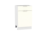 Шкаф нижний 1 ящиком и дверцей Терра Н501 (Ваниль софт)