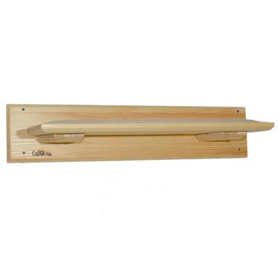 Котополка-лежанка (мягкая) натуральное дерево