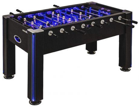Настольный футбол (кикер) «Azure» (148x78x87 см, черный)