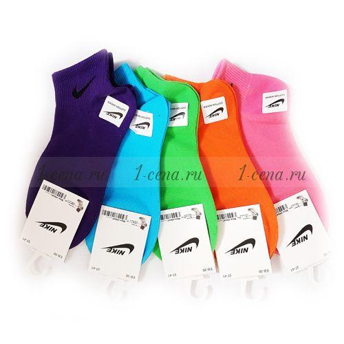 Носки женские ЭЛИТ NIKEr в ассортименте 5 пар