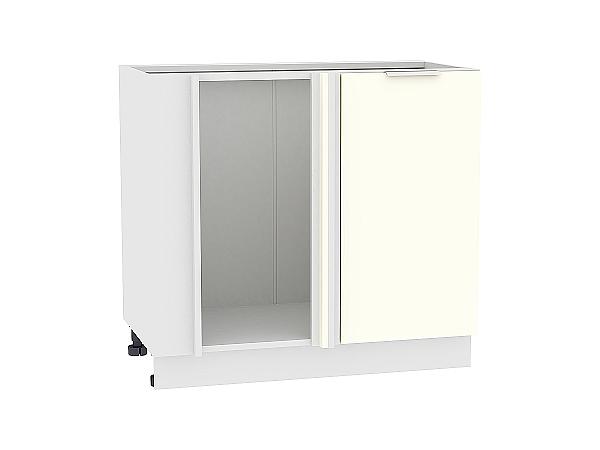 Шкаф нижний угловой Терра НУ990 (Ваниль софт)