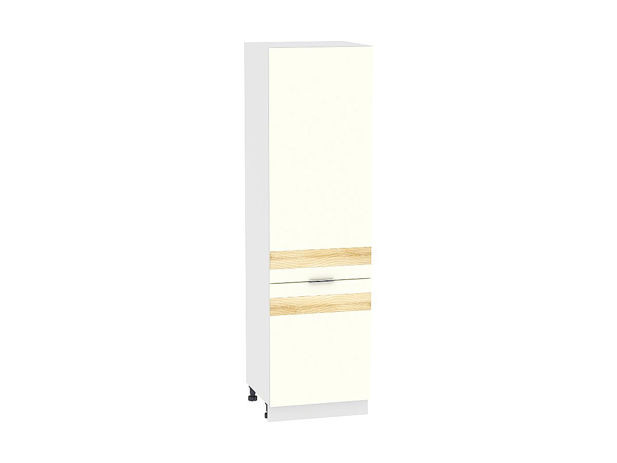 Шкаф-пенал Терра ШП600 D (Ваниль софт)