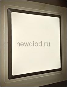 Управляемый светодиодный светильник ARION S8134 48Вт-3800Лм 460мм пульт 6/3/4000K Oreol