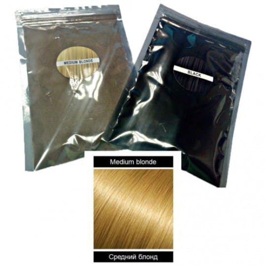 Загуститель для волос в пакетиках KeraLux, Medium Blonde (Светлый)