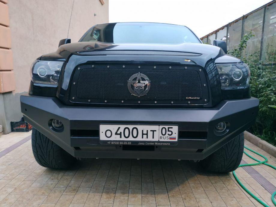 Решетка Toyota Tundra 09-13 хромированная