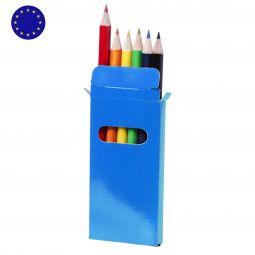 наборы цветных карандашей с логотипом