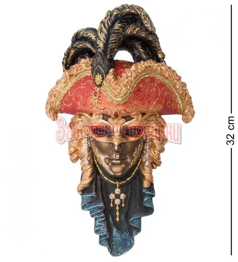 "WS-321 Венецианская маска ""Треуголка"""