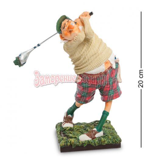 """FO-84002 Статуэтка мал. """"Гольфист"""" (The Golf player. Forchino)"""