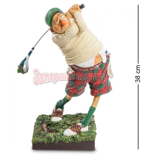 """FO-85504 Статуэтка """"Гольфист"""" (Fore..! The Golfer. Forchino)"""