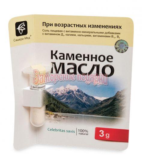 """MED-13/03 """"Каменное масло"""" с дигидрокверцетином. Гибкие сосуды 3,0 г"""