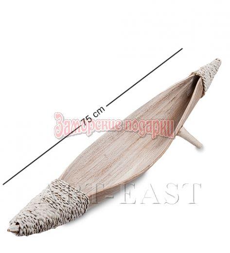 "95-022 Тарелка ""Лодка аборигенов"" (кокос, о. Бали)"