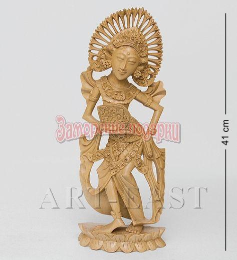 "15-018 Статуэтка ""Балийская танцовщица"" крок. Дерево"