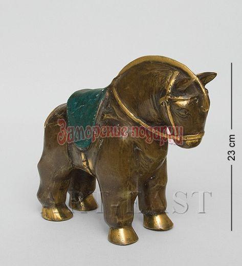 """24-072 Фигура """"Лошадь"""" бронза (о.Бали)"""