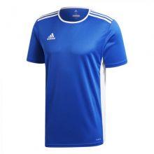 Детская игровая футболка adidas Entrada 18 синяя