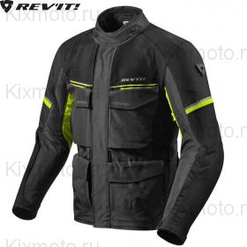 Куртка Revit Outback 3, Темно-серо-черная с желтым