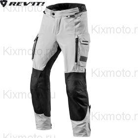 Мотоштаны Revit Offtrack текстильные, Серо-черные