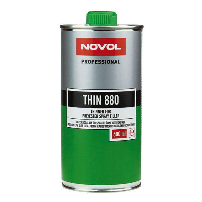 NOVOL Разбавитель для жидкой шпатлевки спрей, объем 500мл.
