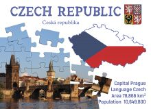 Postcard Step to the Czech Republic