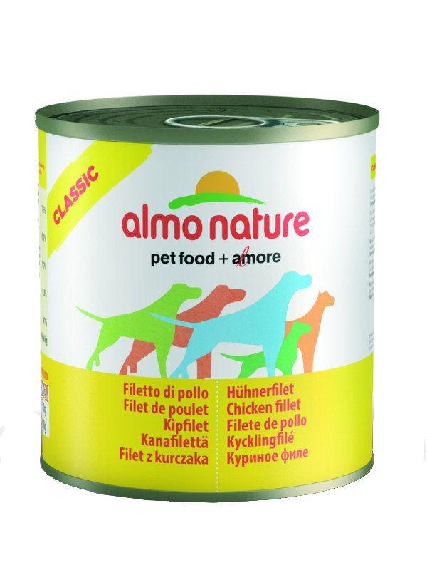 Almo Nature Консервы для Собак с Куриным филе