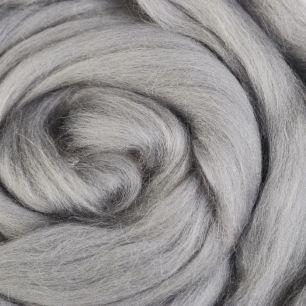 0813_Светлые сумерки-Шерсть для валяния полутонкая 100%, 100 гр.